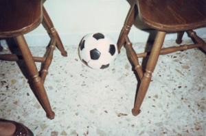 Soccer ball, 1986