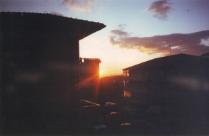 Sunset, 1990